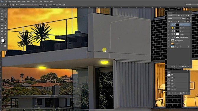 The Drop Shadow In The Photoshop Of Your Real Estate Photography