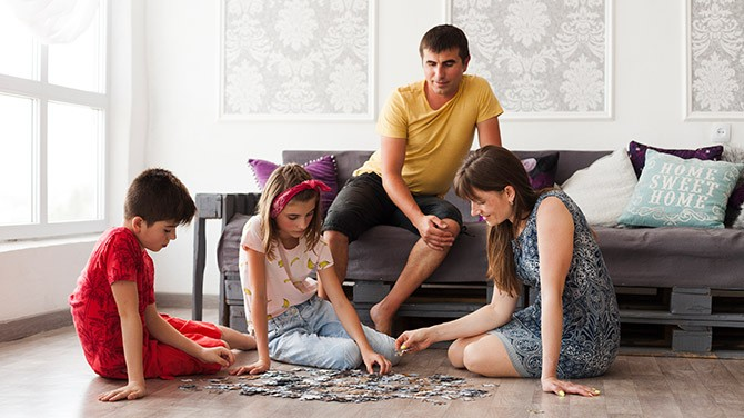 Fun in-house activities to improve your child's vision